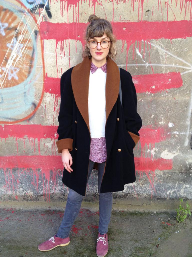 Vintage Mantel outfit