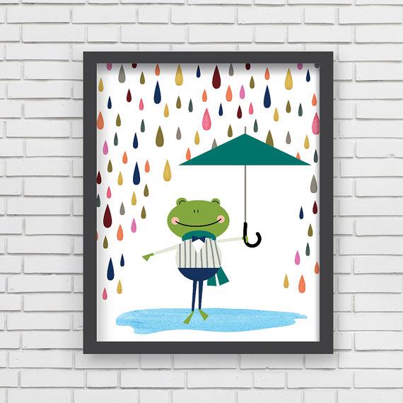 Frosch print