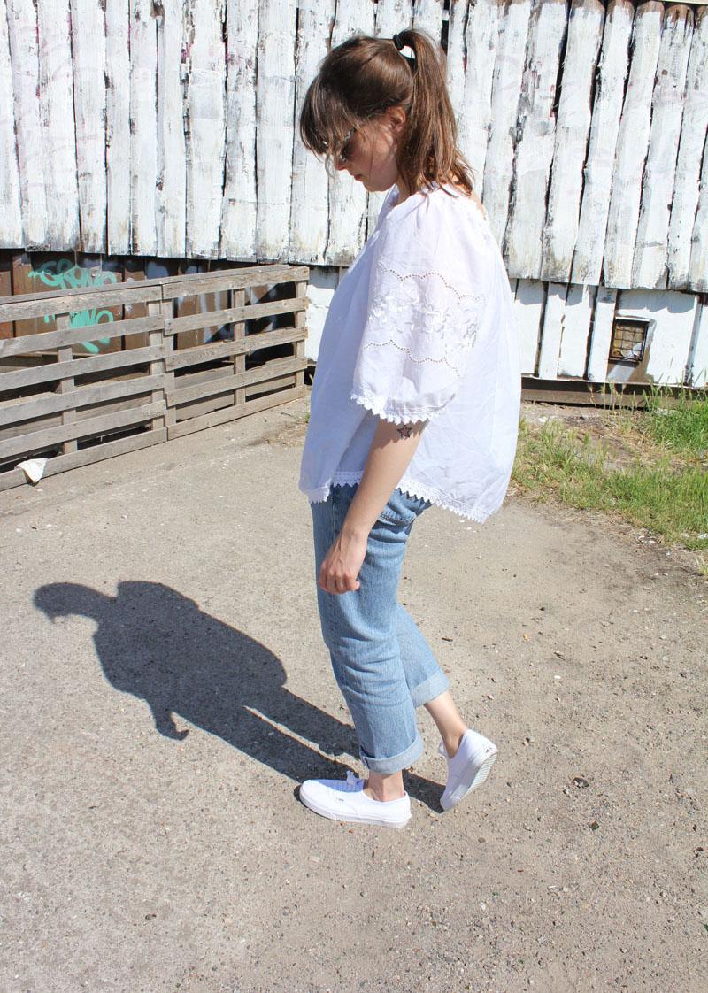 Outfit Die Blue Jeans u0026 das Schneeweiu00dfchen