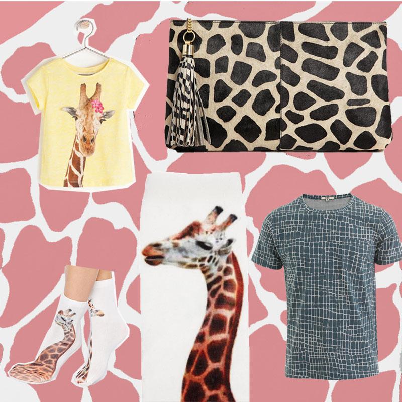 Giraffe Fashion Mode