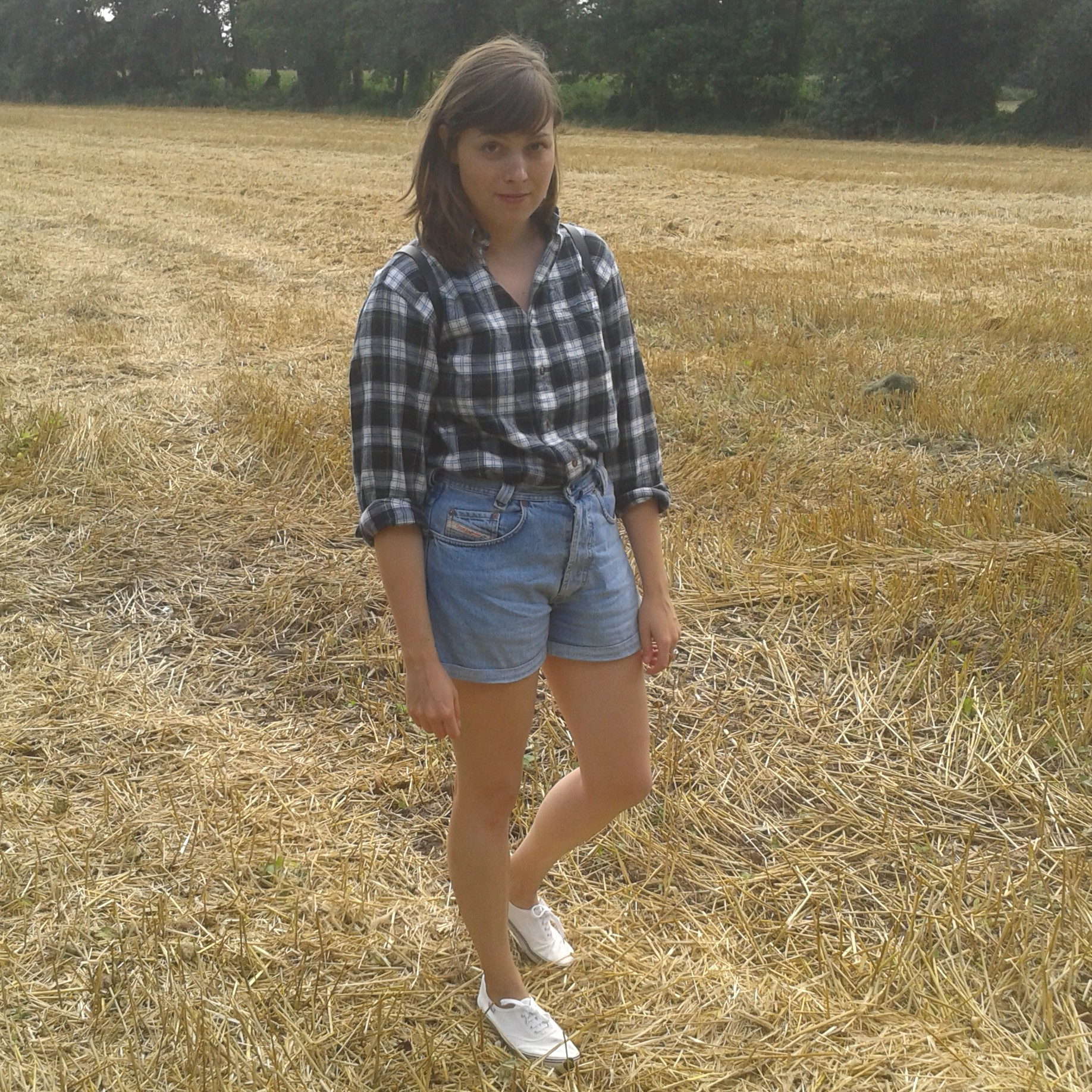 outfit flanellhemd