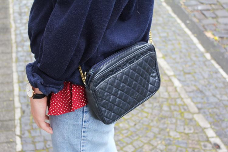Vintage Stepp Tasche