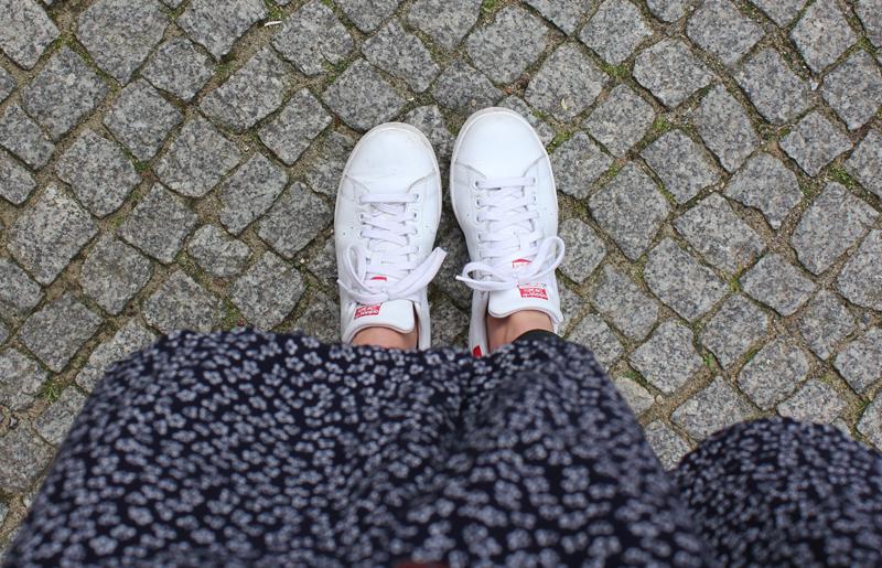 Adidas Stan Smith weiß rot