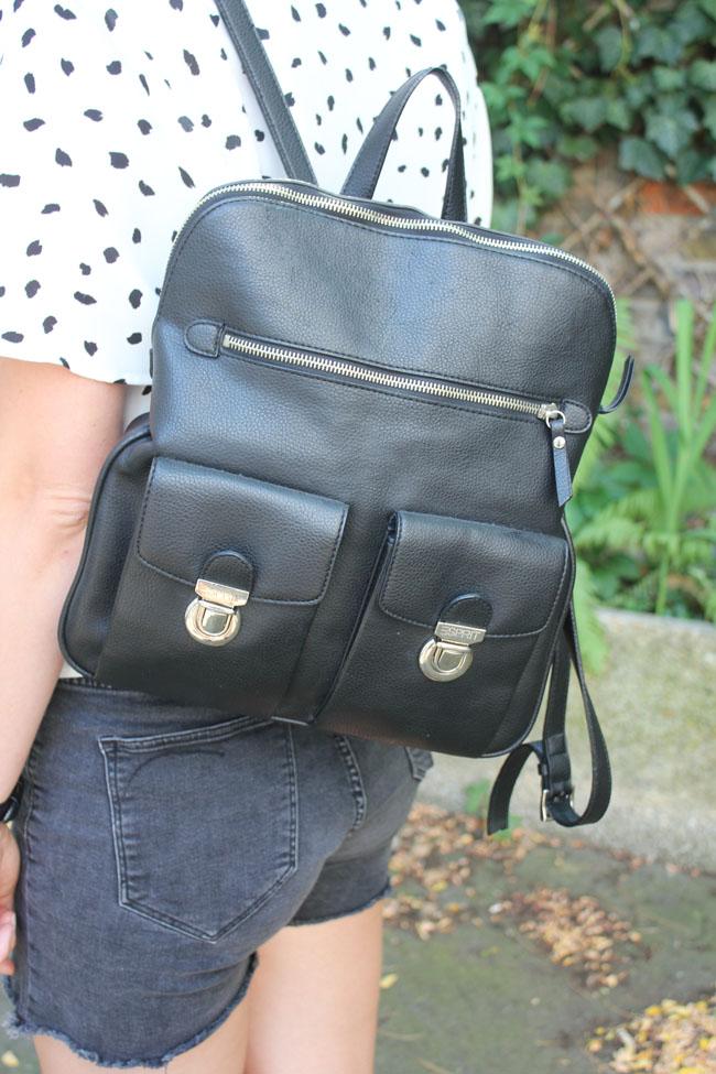 Esprit Schultasche schwarz