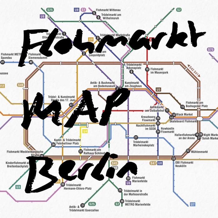 Flohmarkt Map Berlin