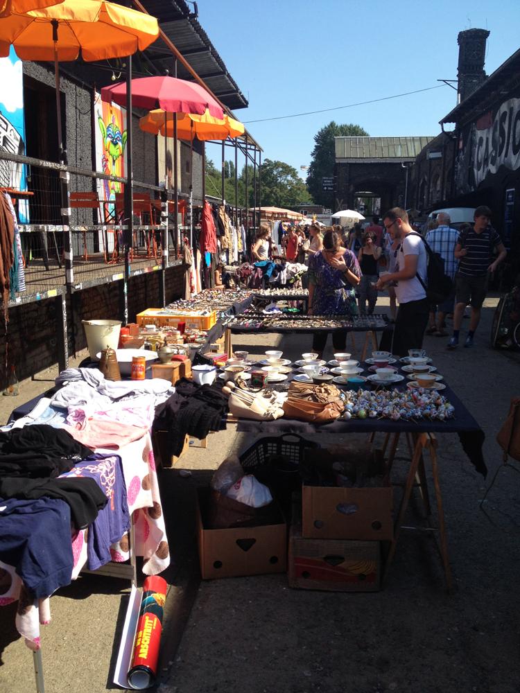 Flohmarkt in Berlin