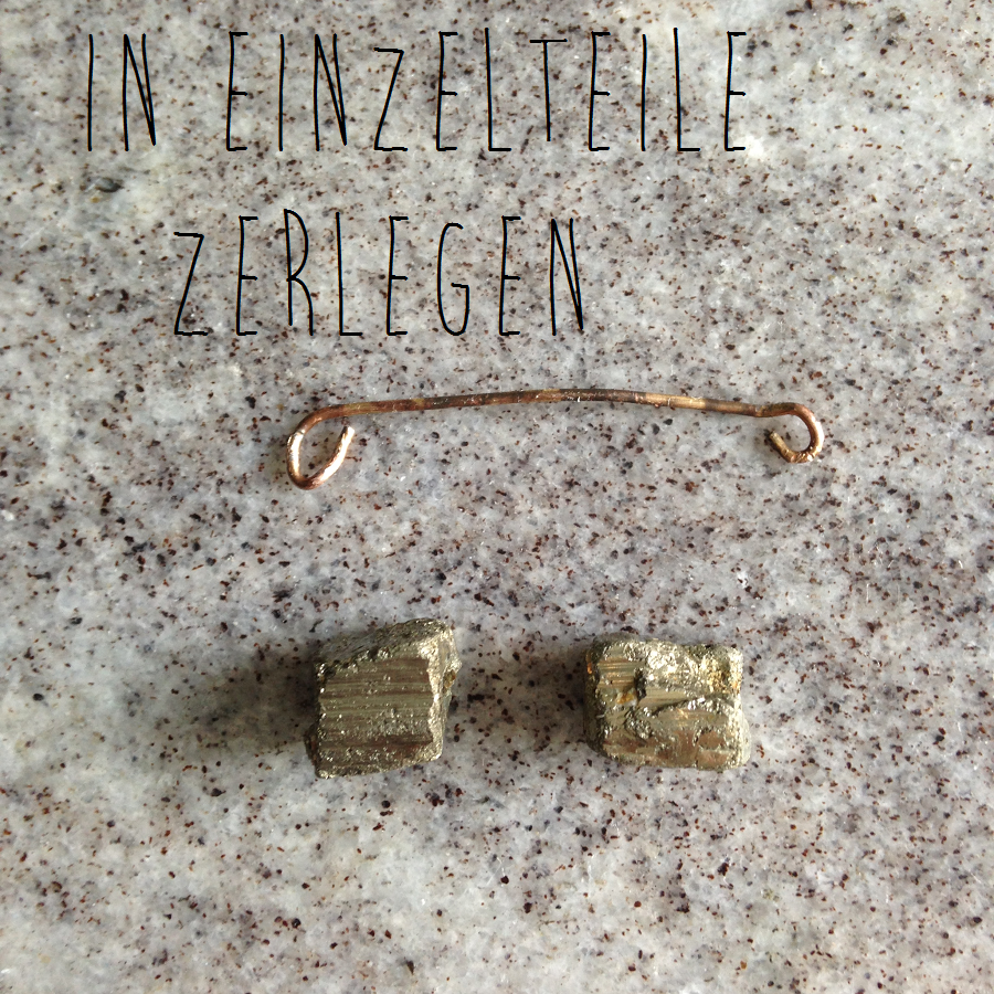 DIY: Anhänger & Ring aus Pyrit