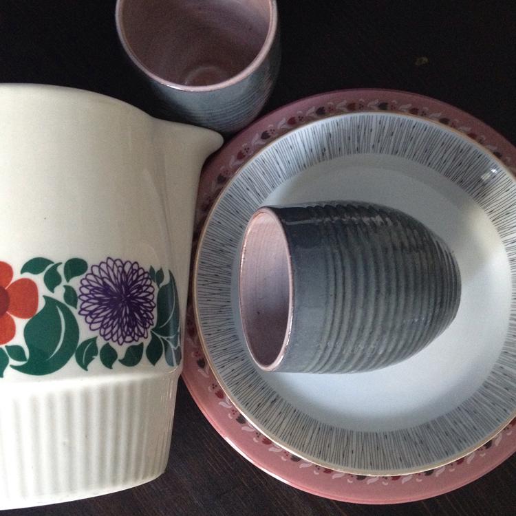 keramik vom flohmarkt
