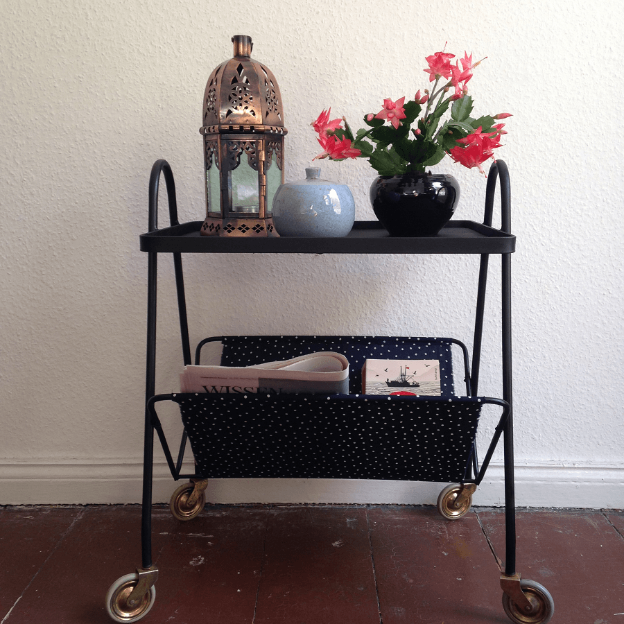 Diy der servierwagen for Servierwagen vintage