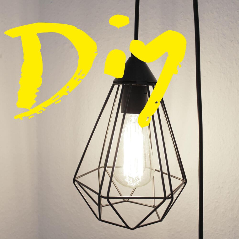 DIY Nachtischlampe