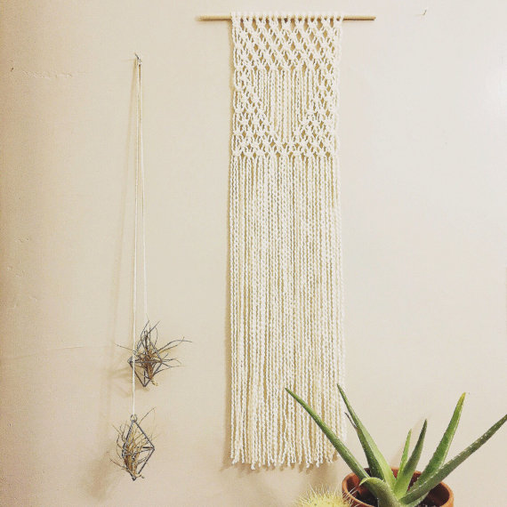 Haben wollen einen makramee wandbehang made of stil - Makramee wandbehang ...