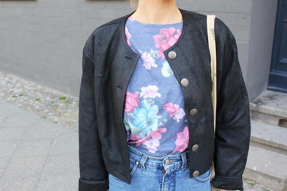 Blümchen Vintage Sweatshirt