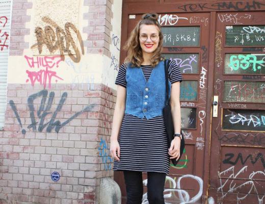 Jeansweste und Glasschuhe