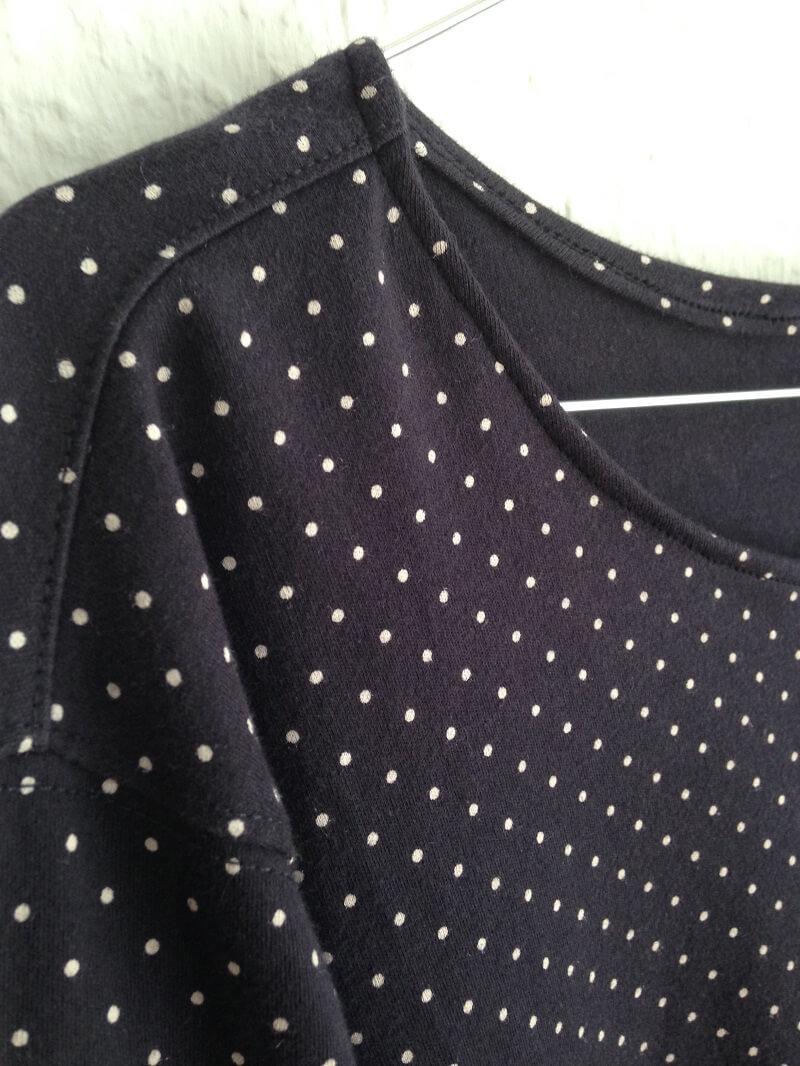 diy summer up sweatshirt detail