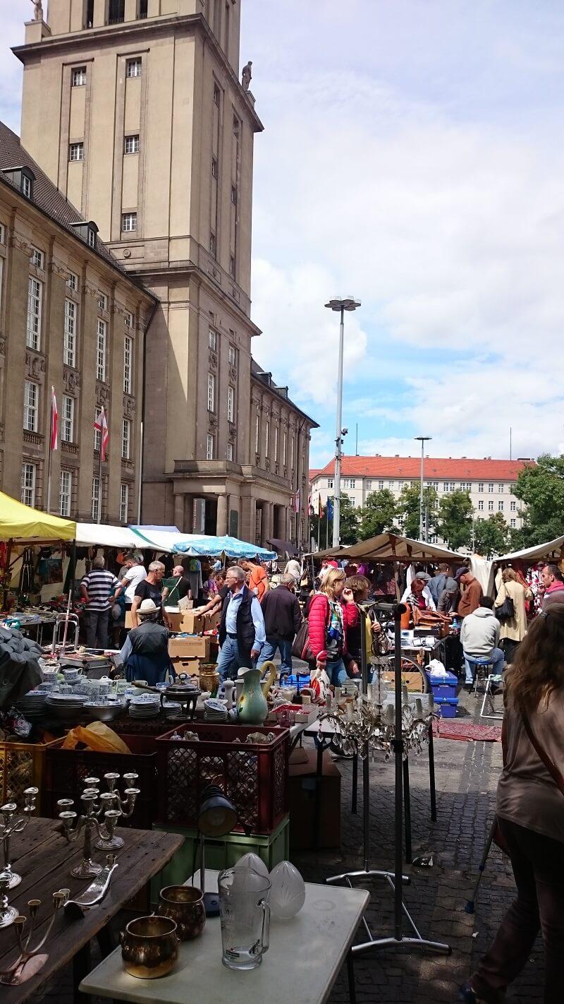 flohmarkt rathaus schöneberg