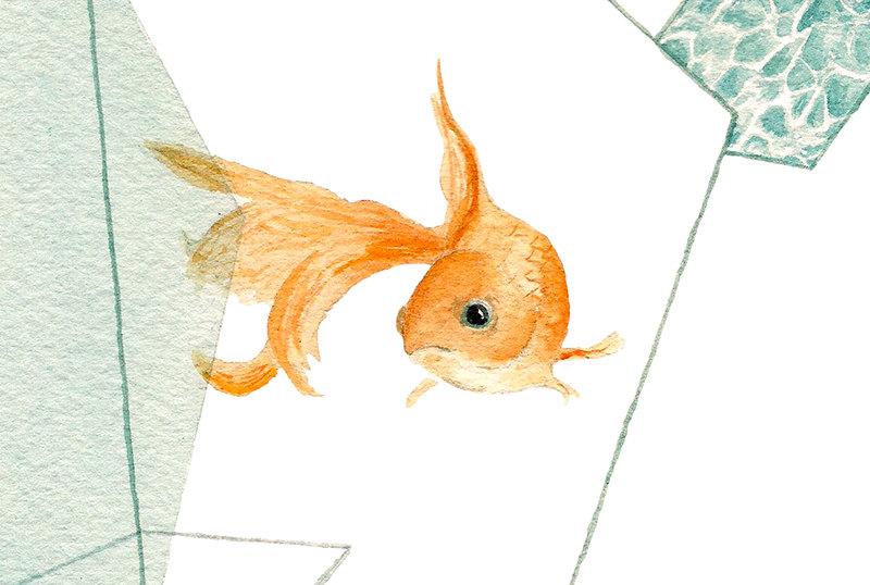 goldfisch etsy