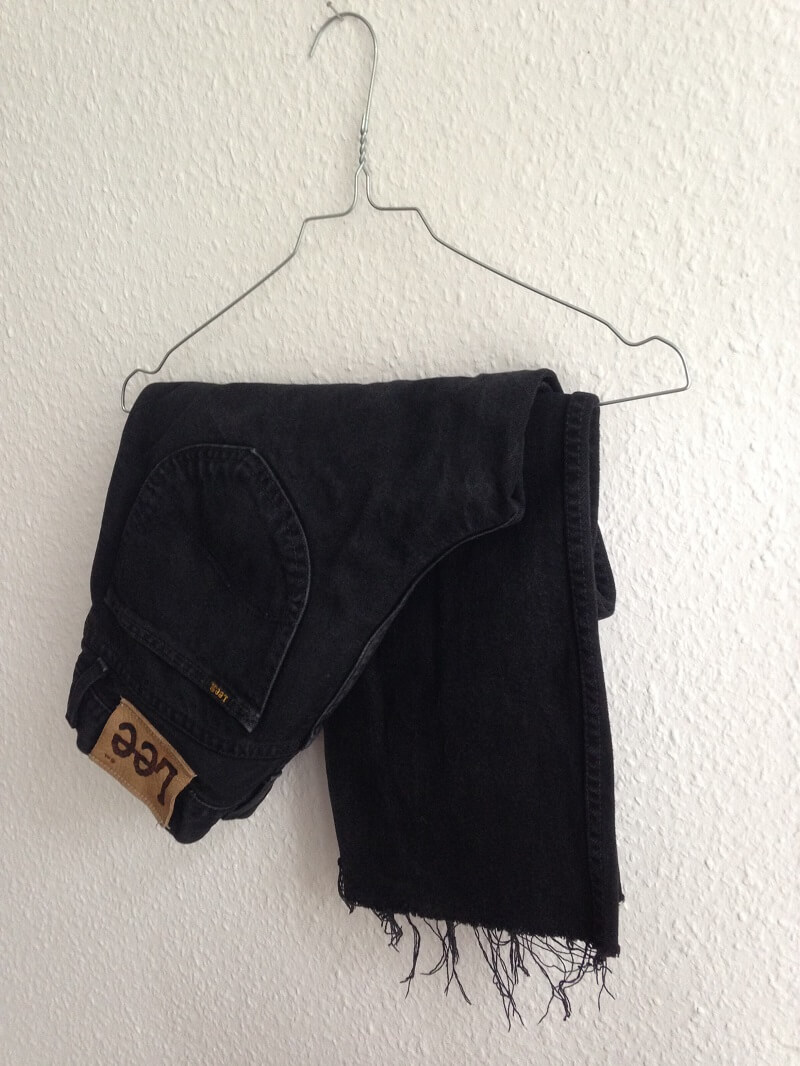 frayed jeans diy