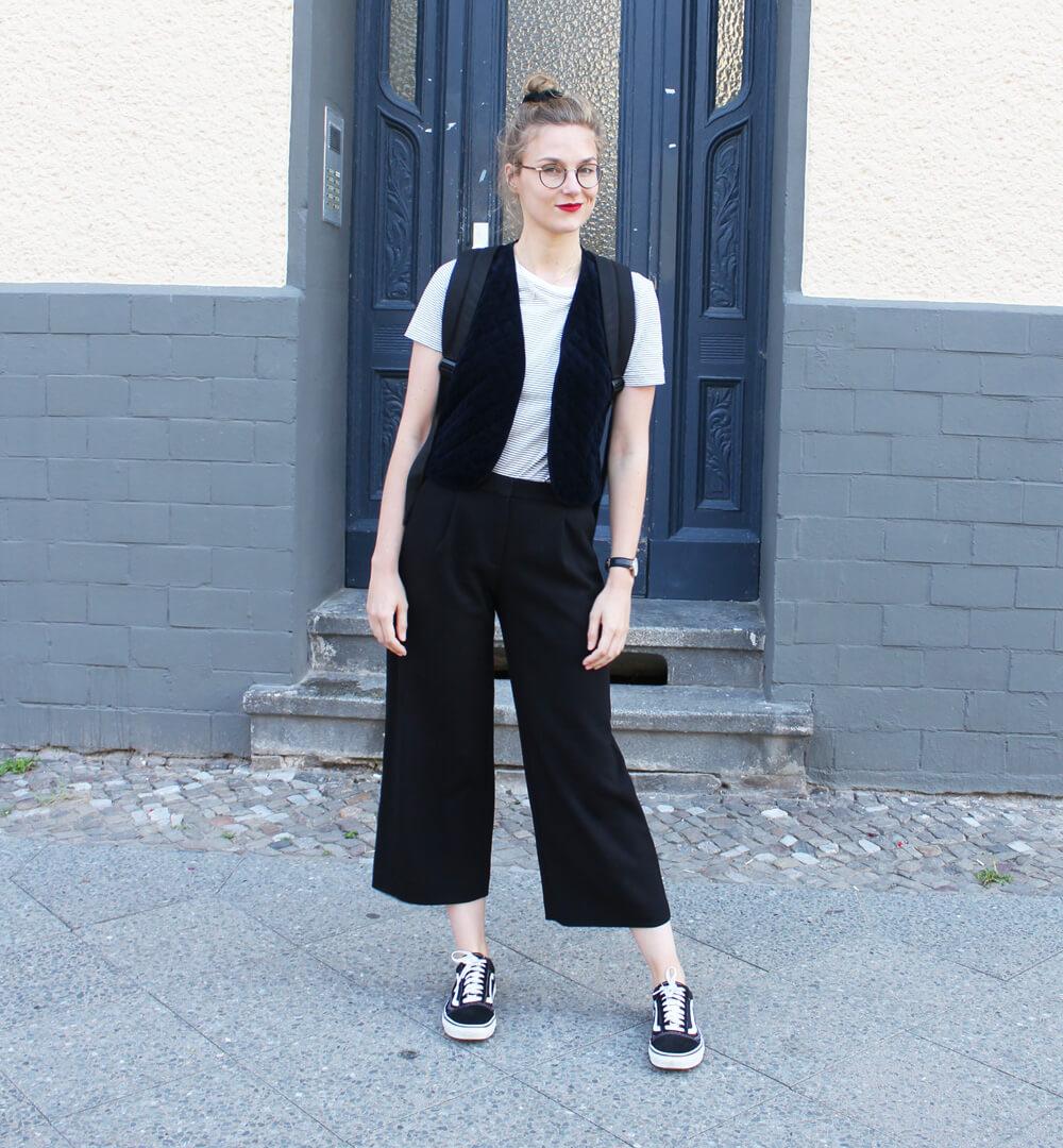monki culottes und vintage