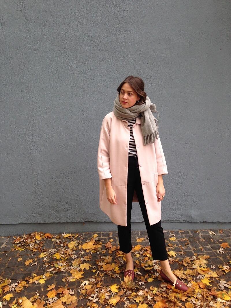 autumn look vintage slipper