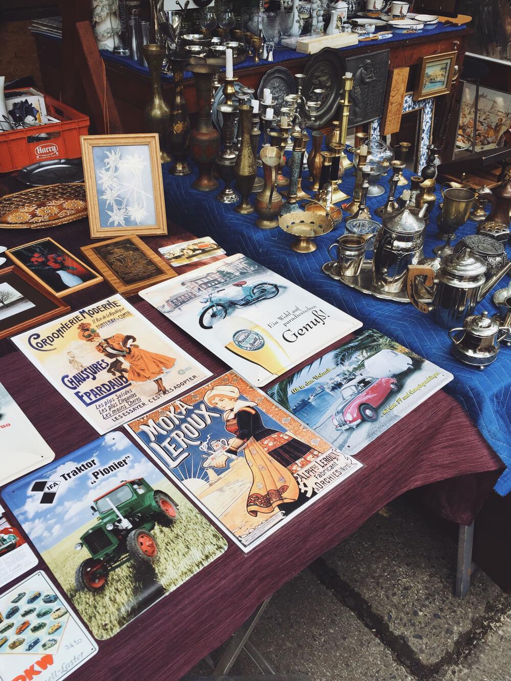 Flohmarkt Hansamarkt