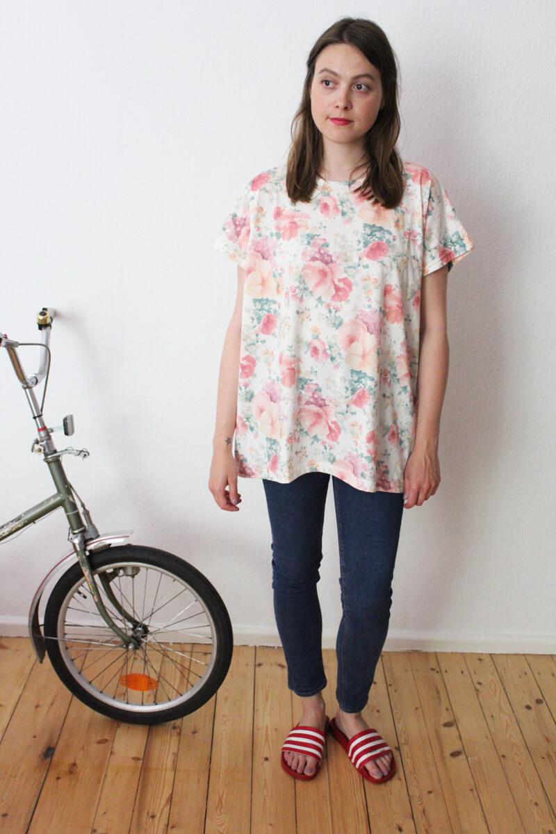 Vintage Blümchen Shirt