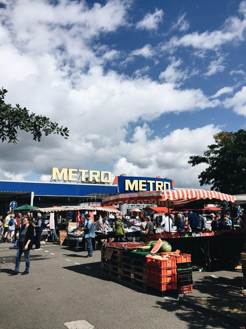 Trödelmarkt METRO Spandau
