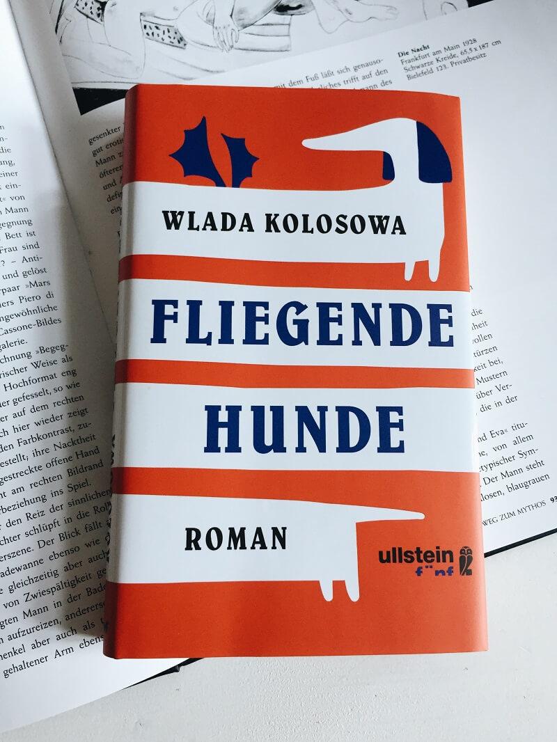 Fliegende Hunde von Wlada Kolosowa