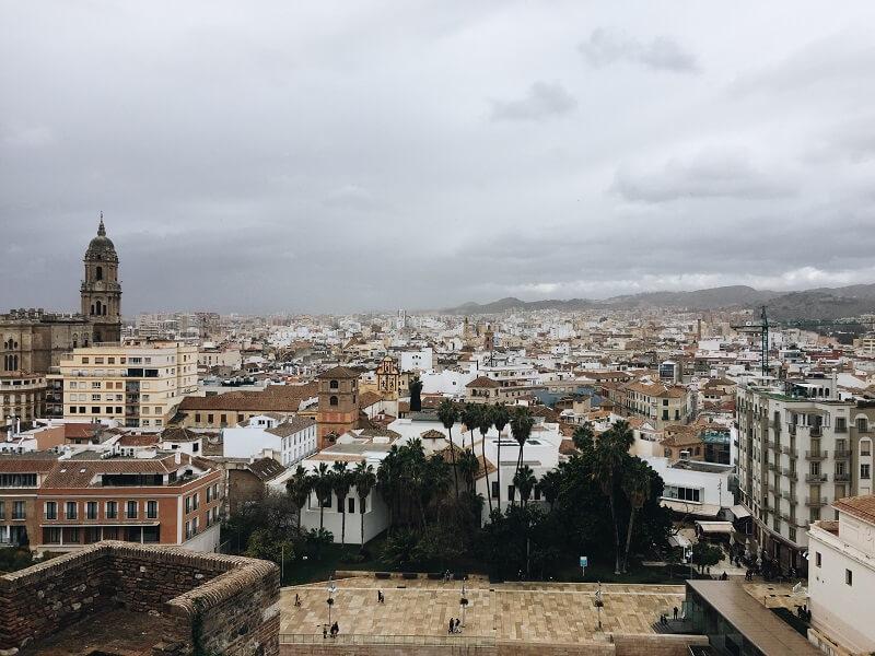 Städtetrip nach málaga