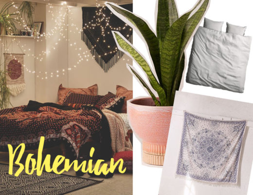 Bohemian Schlafzimmer