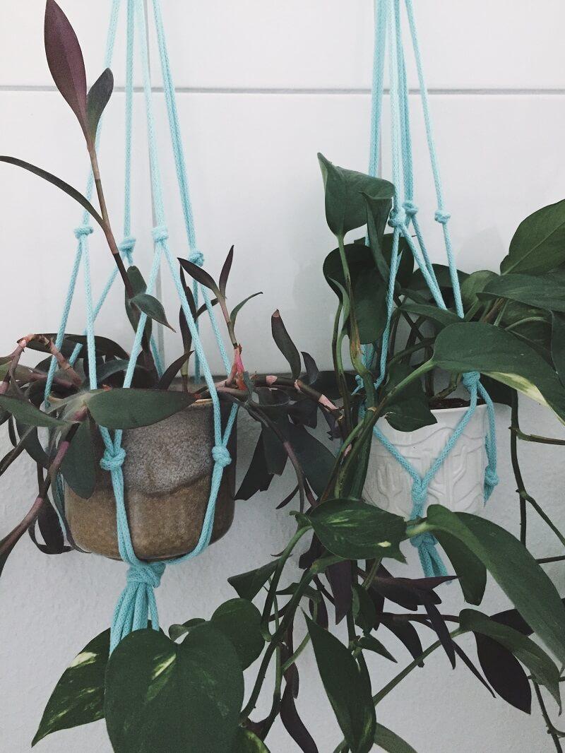 Makramee Hänger für Pflanzen