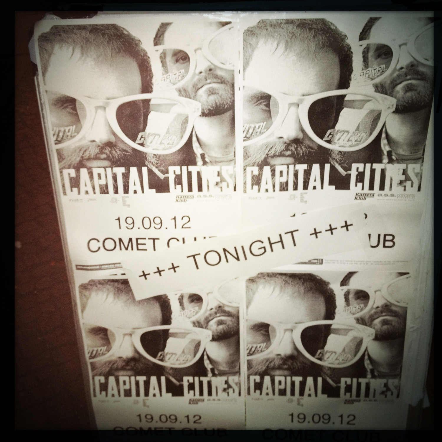 Capital Cities @ Comet Club