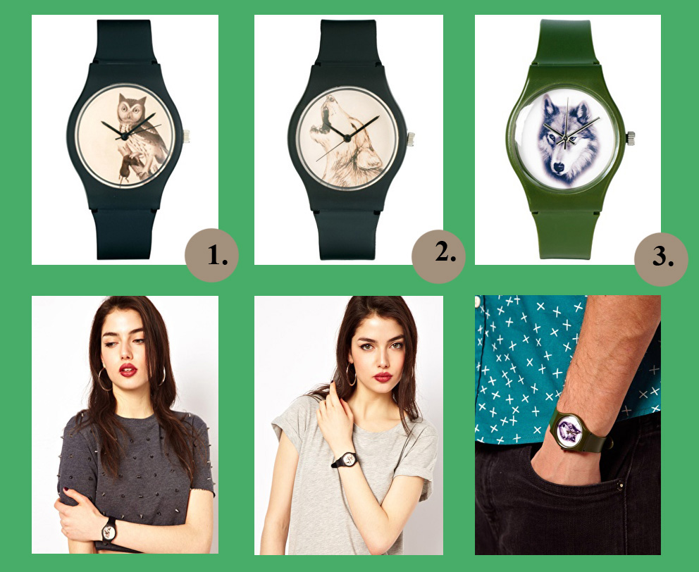 Armbanduhren mit Tiermotiv