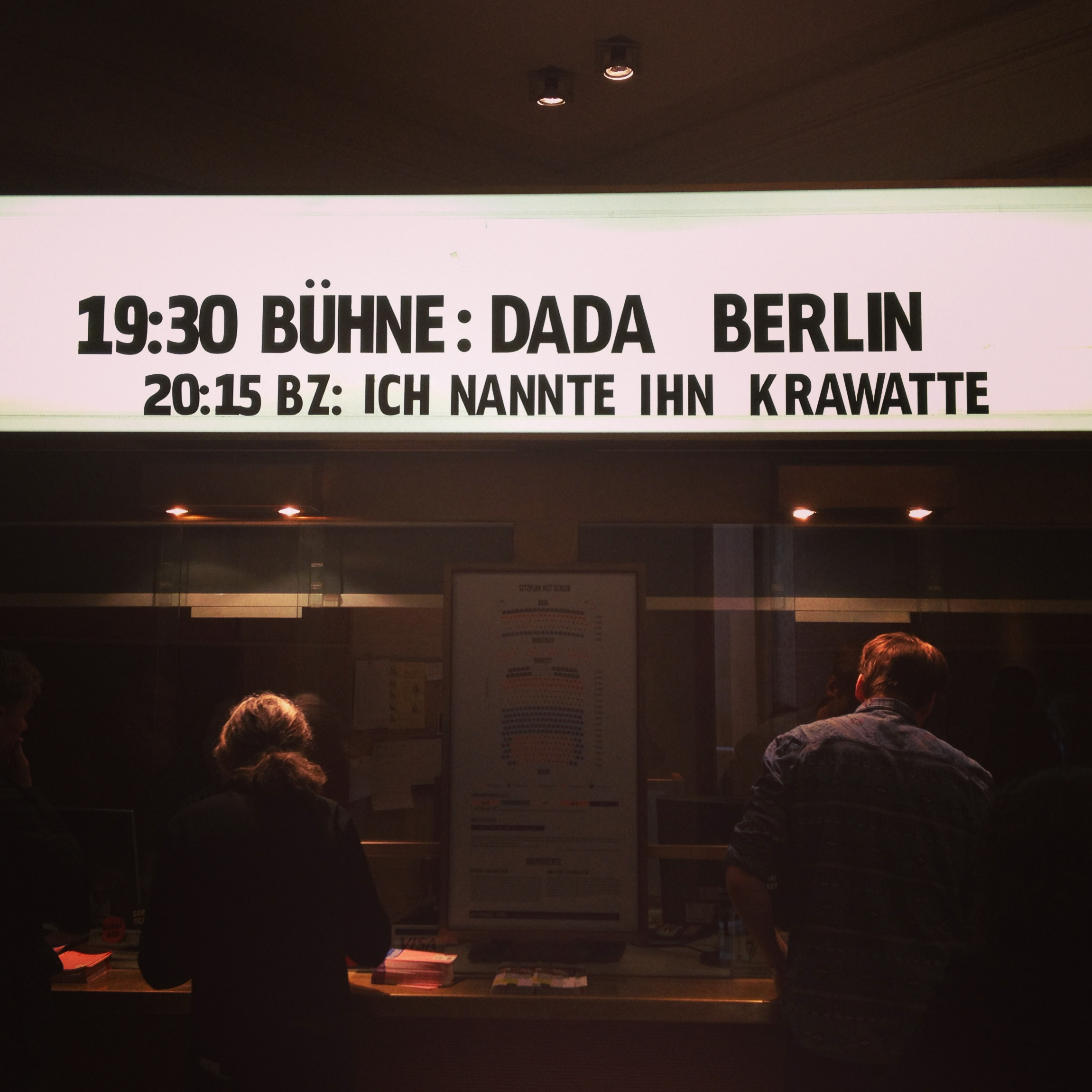 Dada Berlin Maxim Gorki Theater