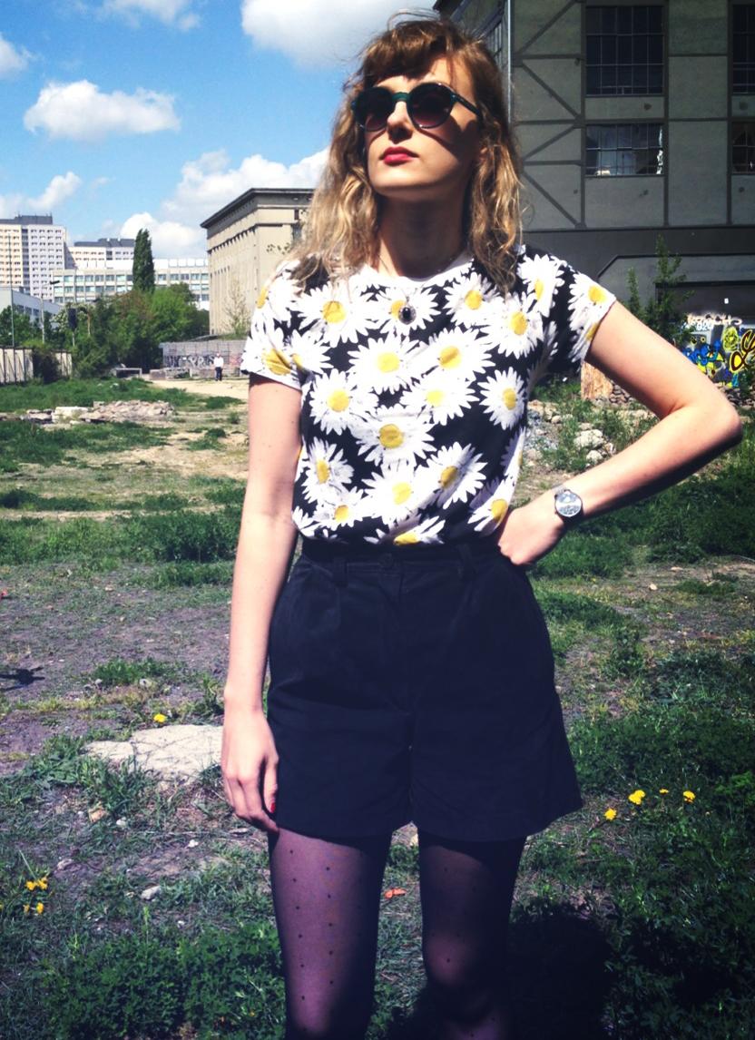 Blumen-shirt