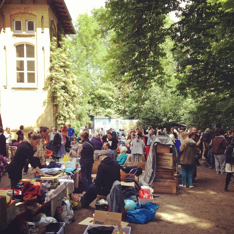 flohmarkt hausdrei Hamburg