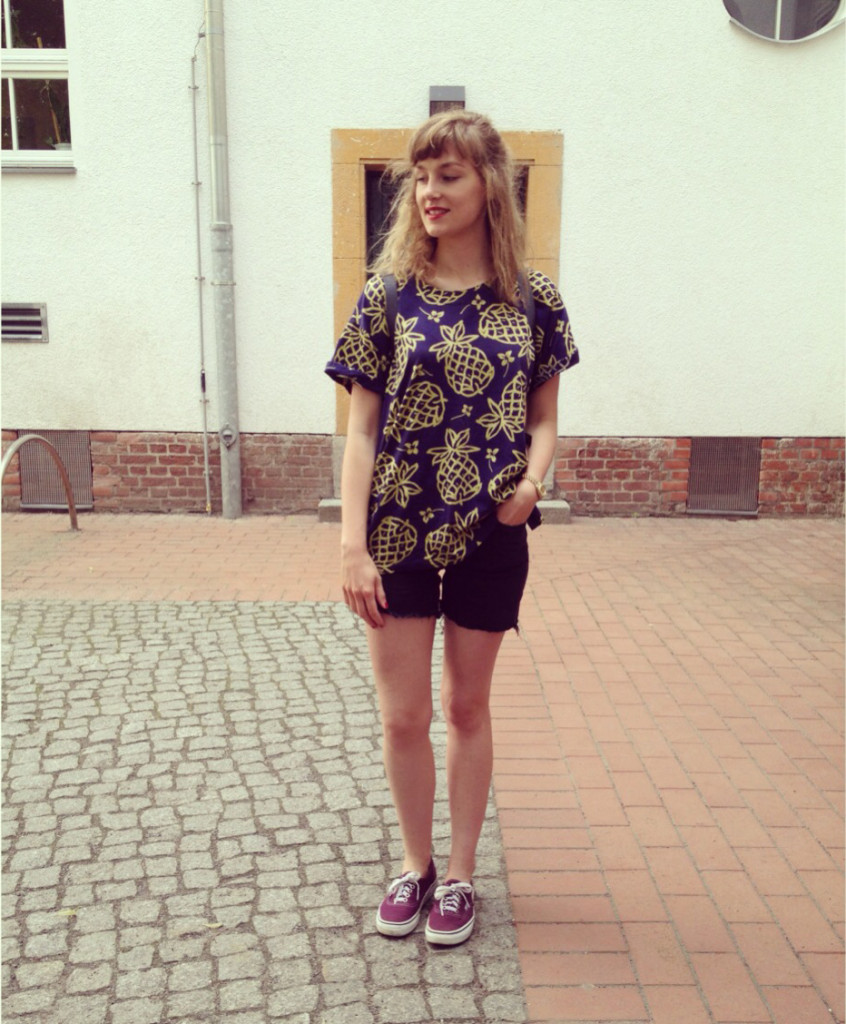 Ananas T-Shirt outfit