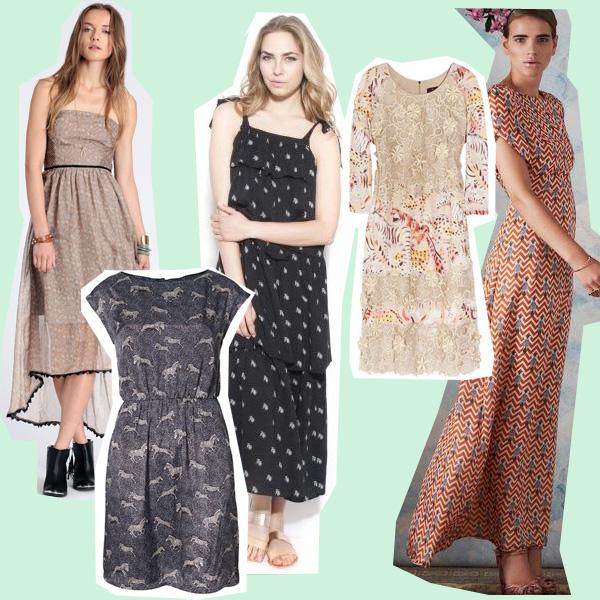 zebra dresses