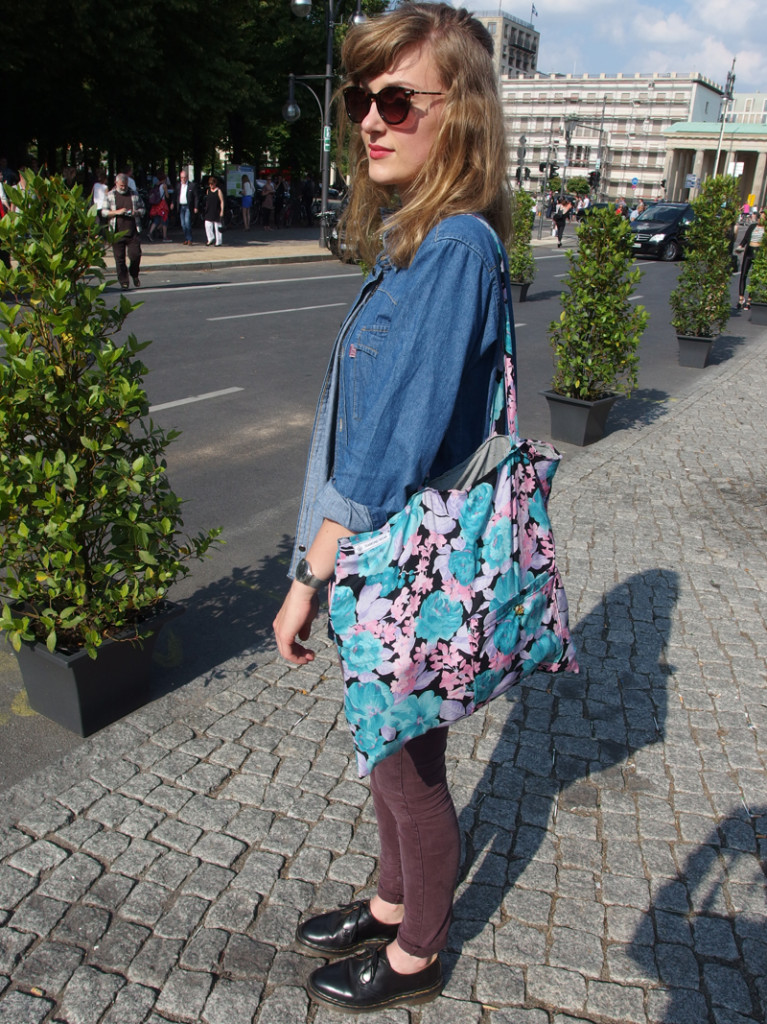 Outfit: Mercedes Benz Fashion Week - Zelt