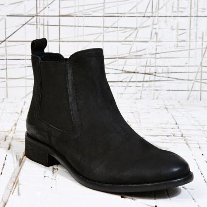 haben wollen schwarze chelsea boots made of stil slow fashion vintage modeblog. Black Bedroom Furniture Sets. Home Design Ideas