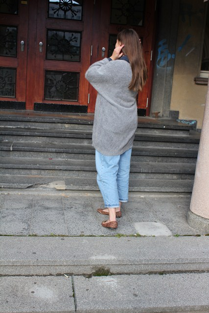strickjacke outfit