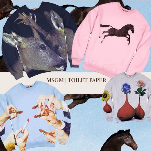 msgm toilet paper