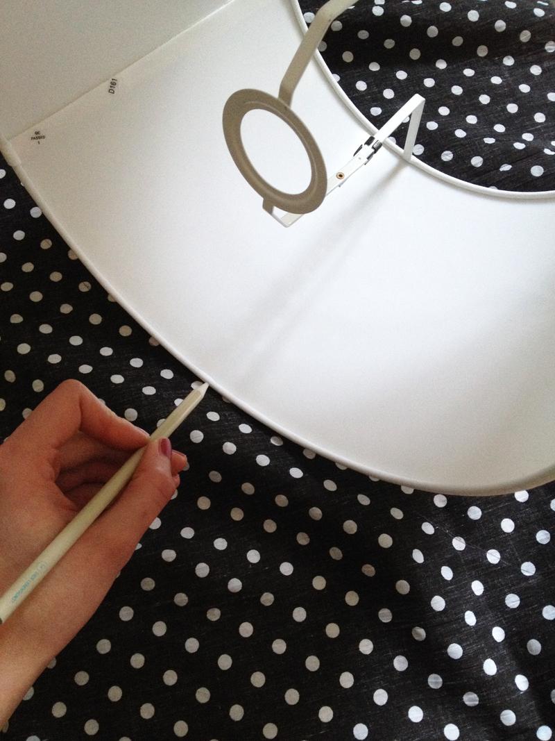 diy lampenschirm. Black Bedroom Furniture Sets. Home Design Ideas