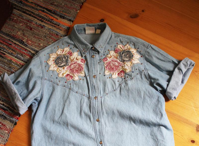 Jeanshemd Vintage