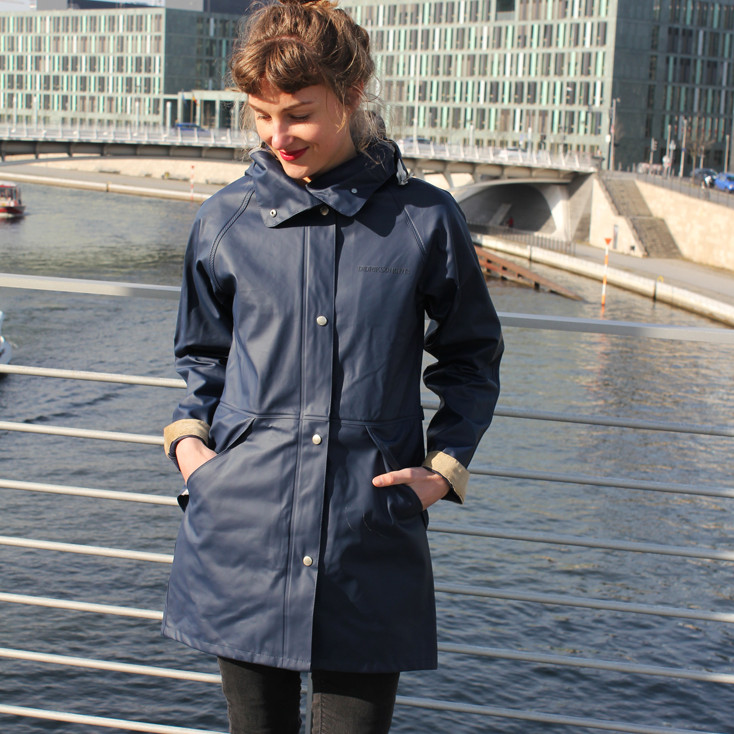 Hedvig Coat Navy