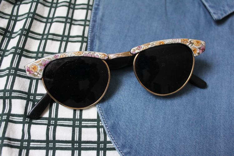 Vintage Sonnenbrille