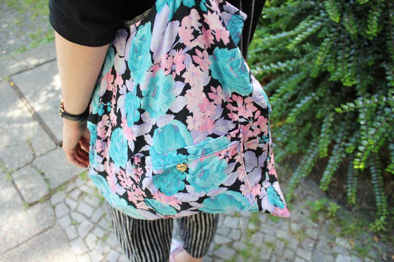 DIY Blümchen Tasche