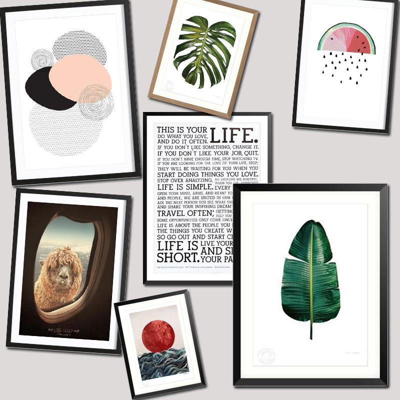 leere w nde f llen die sch nsten poster von juniqe. Black Bedroom Furniture Sets. Home Design Ideas