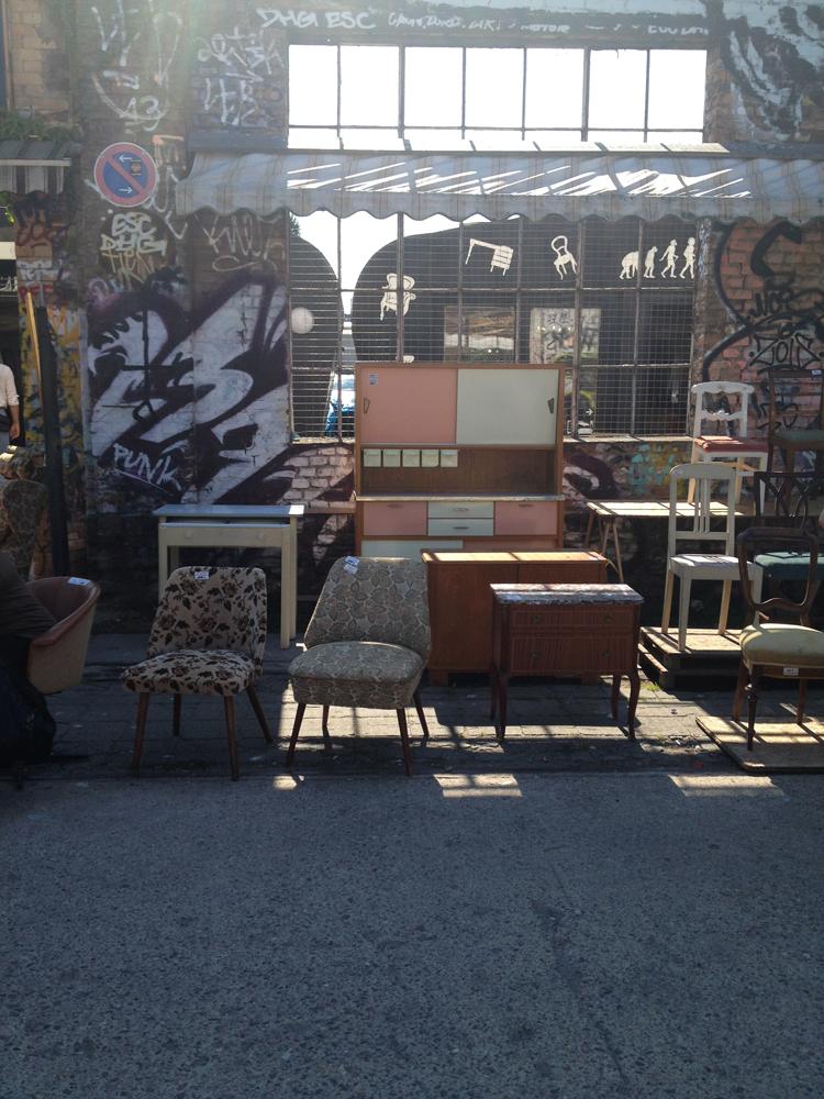 Der RAW Flohmarkt in Friedrichshain