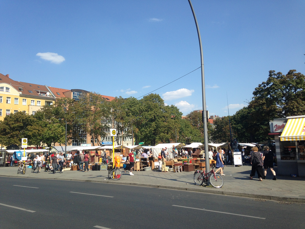 flohmark Leopoldplatz