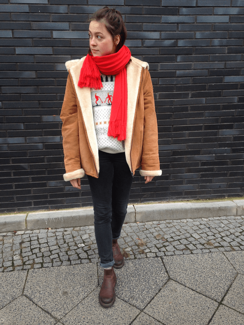 vintage outfit winter